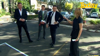 Ally Langdon called Stefanovic out for cheating.
