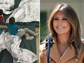 Melania at odds with Donald Trump's border policy