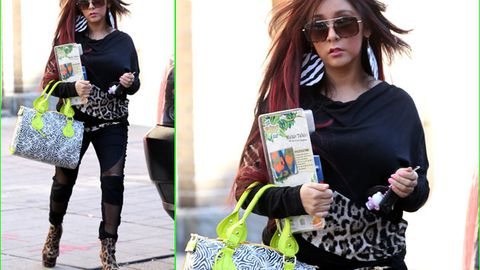 Help us: Jersey Shore's Snooki's is apparently pregnant