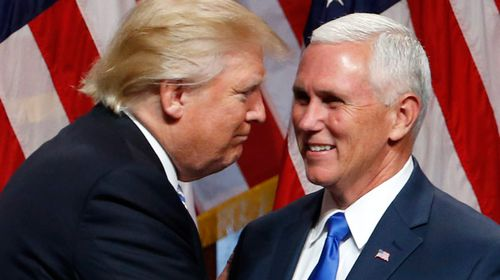 Internet has its way with hastily withdrawn Trump/Pence logo