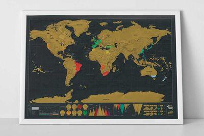 """Scratch Map <a href=""""http://www.scratchmap.org/shop/scratch-map-deluxe-edition/"""">deluxe edition</a>, $38"""