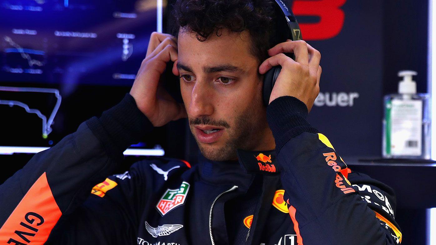 Daniel Ricciardo says his Red Bull is 'cursed' following Mexican GP retirement
