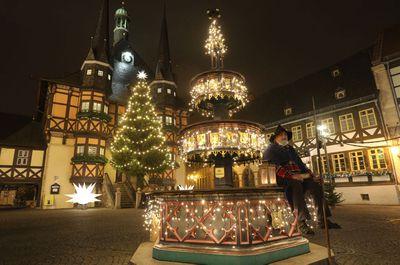 Festive lights in Wernigerode