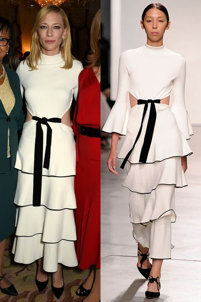 """Cate Blanchett, Diane Kruger, Rooney Mara, Sienna Miller and Emily Blunt are giving new meaning to """"ready-to-wear"""", donning a series of straight-off-the-runway looks to various events and red carpets. Click through to see how they translate from the runway to real life."""