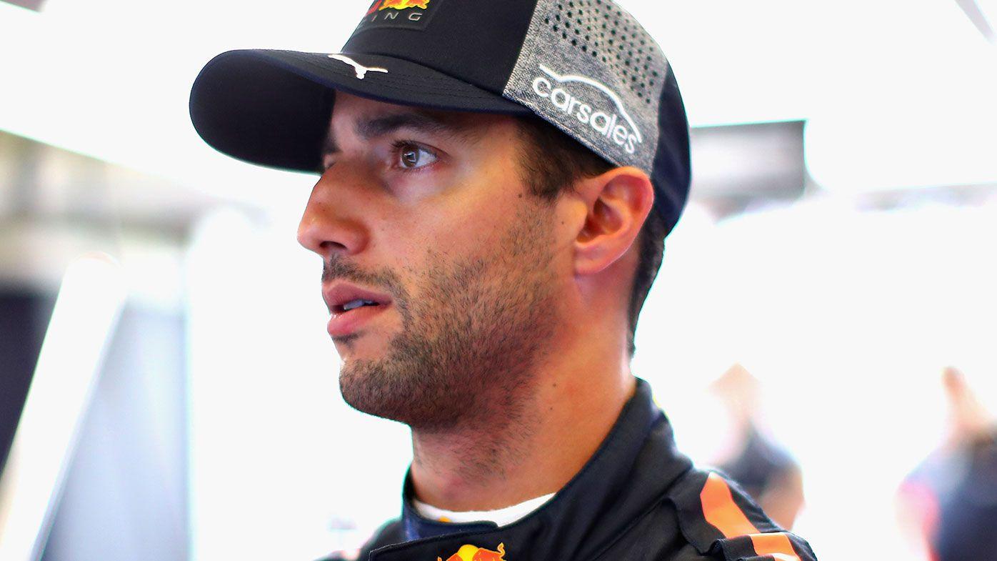 Red Bull Formula One driver Daniel Ricciardo
