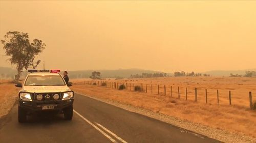 Thick smoke is blanketing large areas of the state.