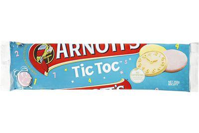 Tic Toc: 38 calories/161kj per biscuit
