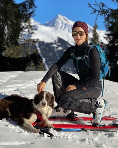 Princess Mary shares new photos of her family from the ski fields in Switzerland