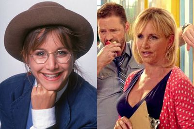 In that same ad, they also reunited with Gabrielle Carteris, aka Andrea! Stifler's Mom, much?