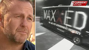 Anti-vaxxer group launches online tirade against Queensland business owner