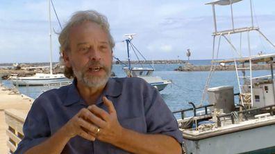 Alien sharks Marine biologist Dr. Greg Stone
