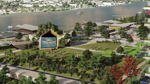 Despite Brisbane's 2032 Olympic Games selection celebration is still fresh in our minds, the groundwork has already been made towards the events Athletes Village.