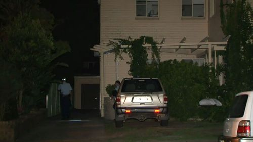 Police were called to the property in Sydney's south at around 2.30am. (9NEWS)