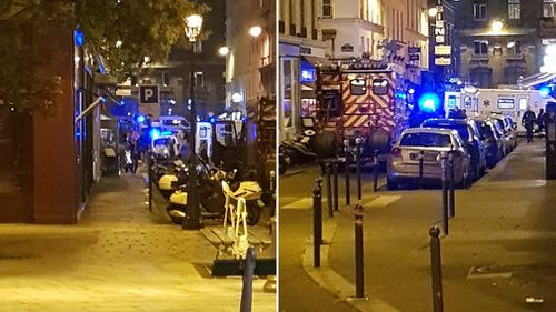 A knife-wielding assailant has killed one person and injured four in the centre of Paris before being killed by police. (Picture: CrowdSpark)