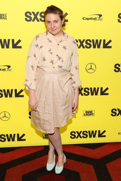 Actress, writer and producer Lena Dunham