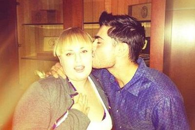 "@zacefron: ""@RebelWilson You're the sweetest. I can't wait to see #PitchPerfect2. Love :)"""