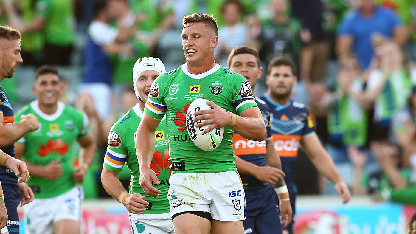 Jack Wighton leads Canberra Raiders to big win over Gold Coast Titans