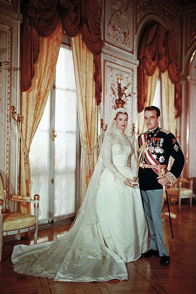 Princess Grace Kelly of Monaco wedding