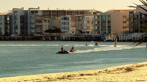 The Queensland government is urging people to move north.