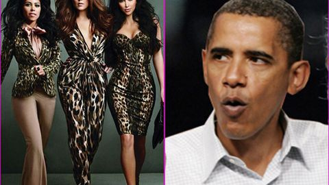 Barack Obama doesn't like his daughters watching The Kardashians