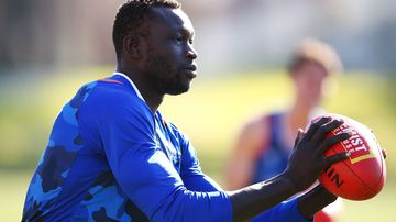 Majak Daw's mental health 'primary concern' for North Melbourne