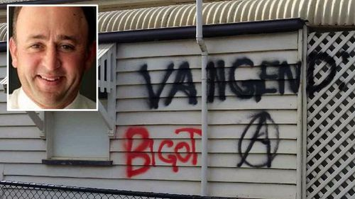 Vandals trash office of Queensland gay marriage opponent