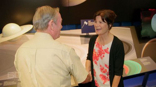 Trevor Barry meets acclaimed scientist Carolyn Porco.