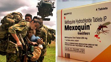 Veteran likens anti-malaria pill's effects to Agent Orange