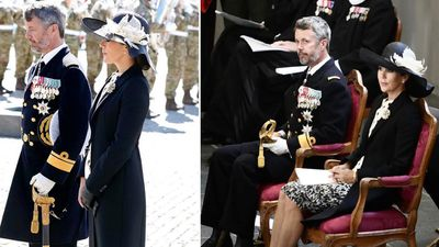 Princess Mary honours fallen soldiers on Flag Day, September 2021