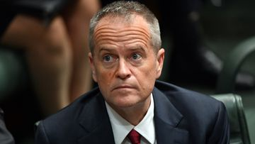 Mr Shorten has slipped two points to a 30 percent approval rating, marking the longest negative satisfaction rating of any opposition leader. Picture: AAP