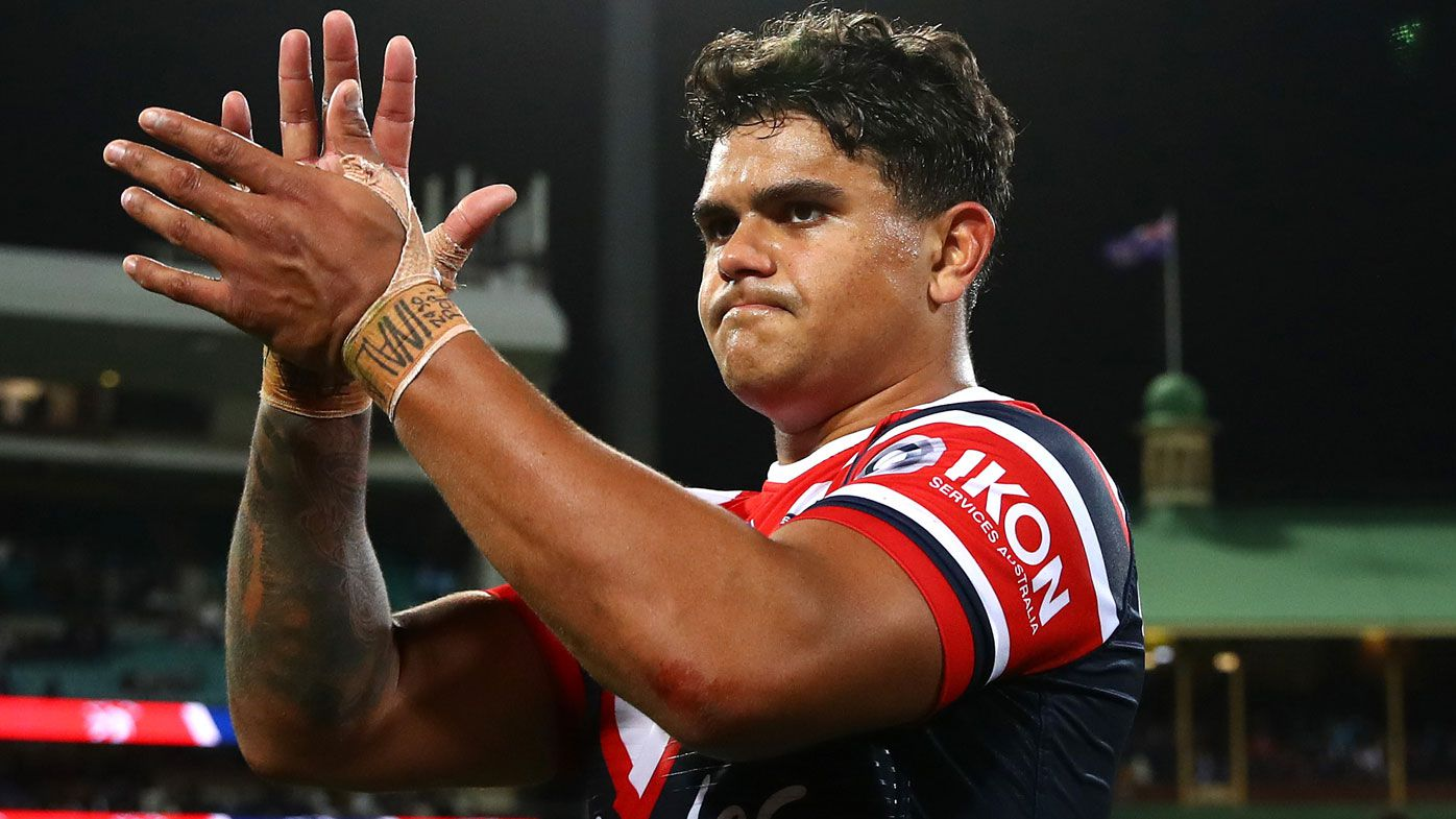 Roosters will let Latrell Mitchell walk but not to South Sydney, new report says