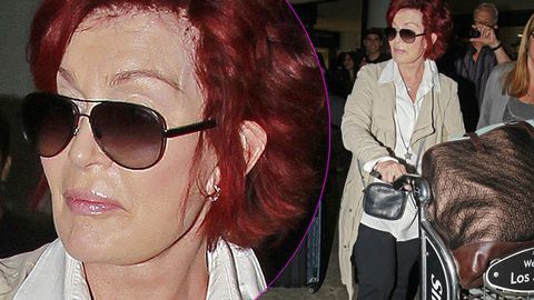 What the hell happened to Sharon Osbourne's face?