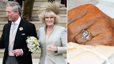The Duchess of Cornwall's Art Deco ring