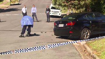 Investigators at the scene. Picture: 9NEWS