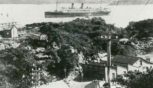 The Quarantine Station, now home to a hotel, was where shop passengers were taken on arrival in Sydney.