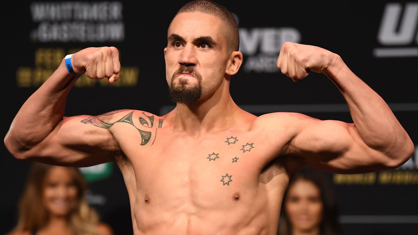 UFC 234: Robert Whittaker hospitalised with hernia, out of middleweight title defence