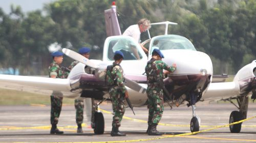 Aussie plane intercepted by Indonesian fighter jets