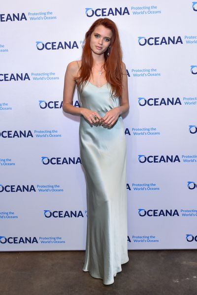 Abbey Lee Kershaw attends the Oceana New York Gala at Blue Hill at Stone Barns on September 13, 2017 in Tarrytown, New York.