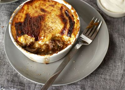 "<a href=""http://kitchen.nine.com.au/2016/05/17/10/50/braised-lamb-neck-moussaka"" target=""_top"">Braised lamb neck moussaka</a><br> <br> <a href=""http://kitchen.nine.com.au/2016/12/07/11/18/food-fight-greece-v-italy"" target=""_top"">More Greek v Italian recipes</a><br> <br>"
