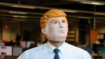 Donald Trump masks sell out across Australia.