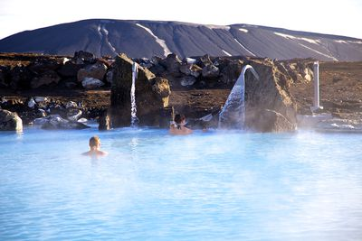 <strong>Have an entire secret pool to yourselves in Lake M&yacute;vatn&nbsp;</strong>