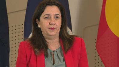 Queensland Premier Annastacia Palaszczuk speaks at a press conference on June 23, 2016.