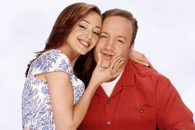 Women as beautiful as Carrie (Leah Remini) don't marry parcel delivery men. Especially when they look like Kevin James.