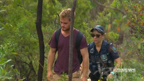 The trio were hiking in the Belair National Park when the assault occurred. Picture: 9NEWS