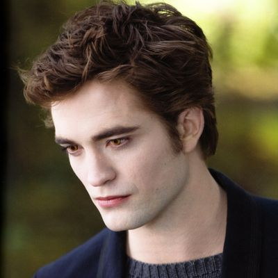 Robert Pattinson as Edward Cullen: Then