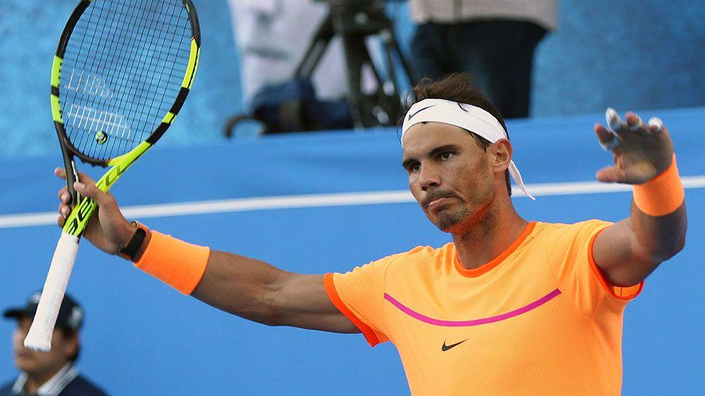 Rafael Nadal. (AAP)
