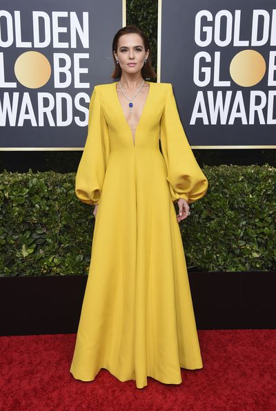 Golden Globes' best dressed: Zoey Deutch