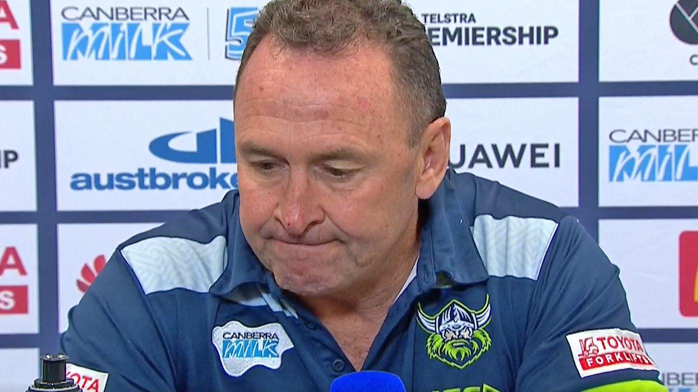 'We lost our mojo': Ricky Stuart laments Canberra Raiders' season missteps
