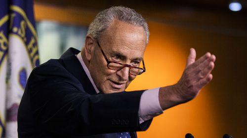 Democratic Minority Leader Chuck Schumer has decried the Republican spending plans.