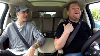 Justin Bieber, James Corden, Carpool Karaoke